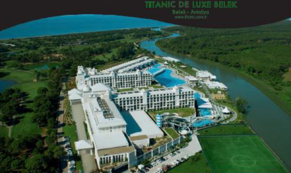 Titanic de Luxe  Belek all inkl ab € 104,- pP/Tag